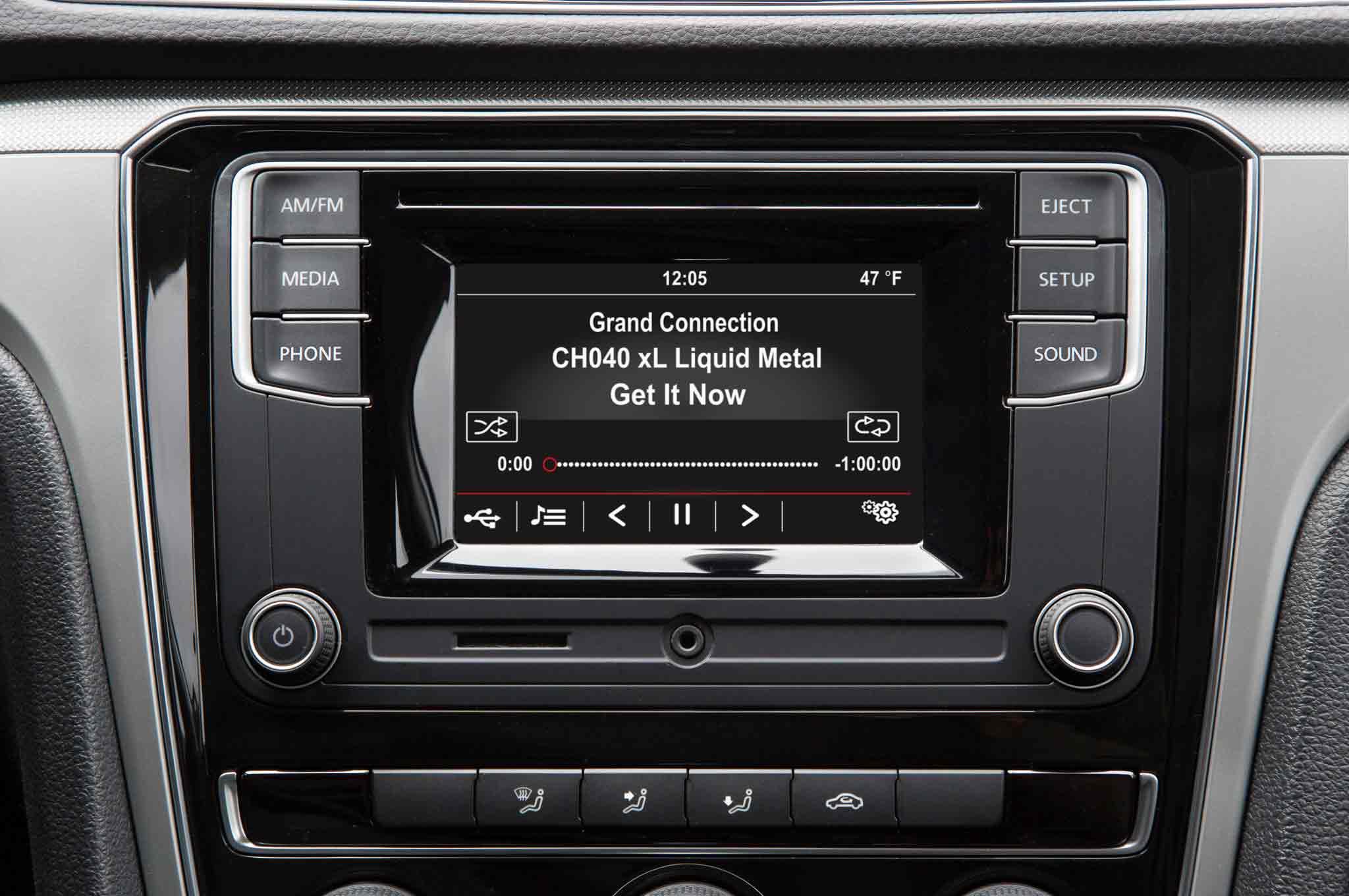 Volkswagen Gsr Radio Display Sat Radio