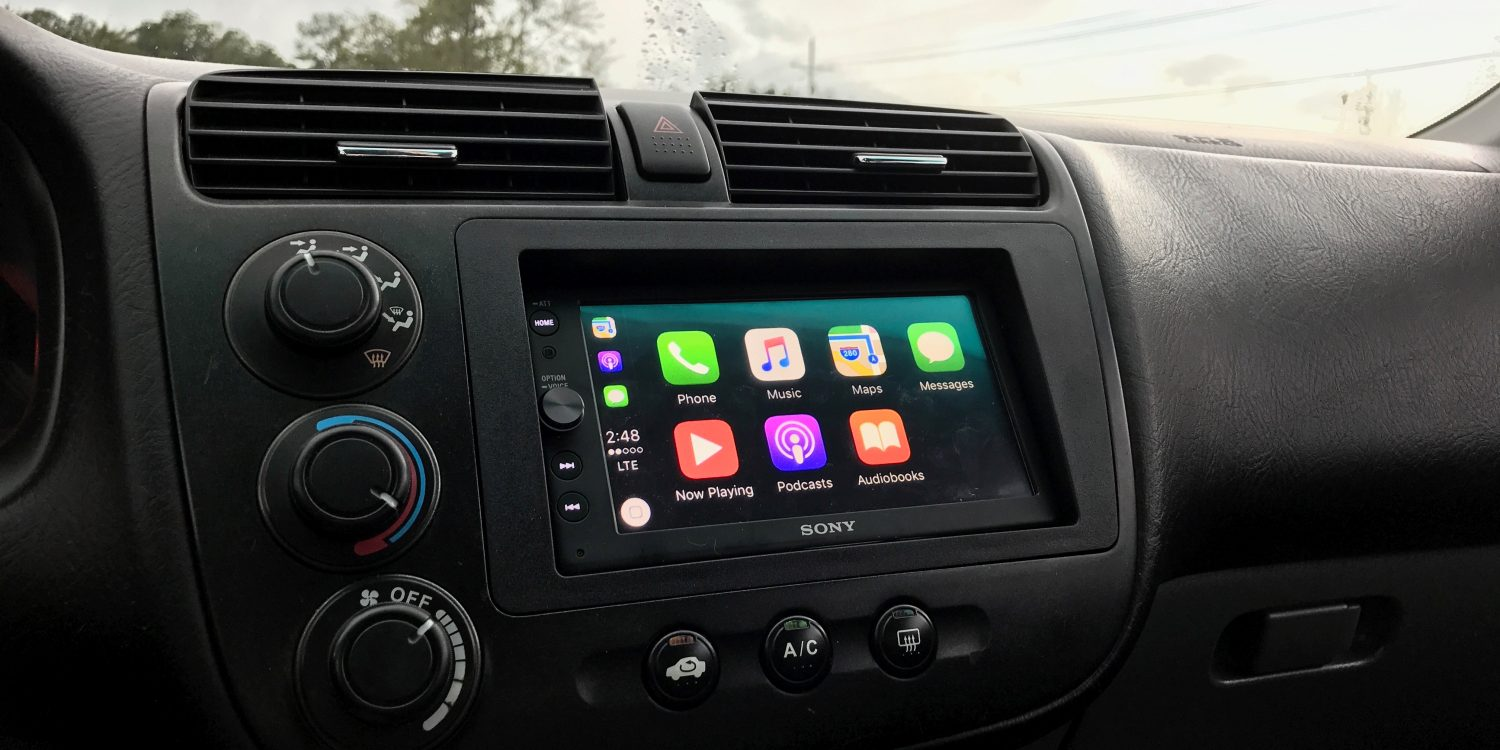 aftermarket head units with carplay for iphone
